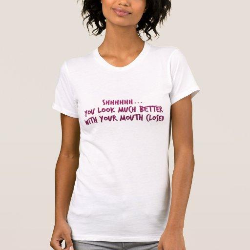 Better Shut Up! - Ladies Petite T-Shirt