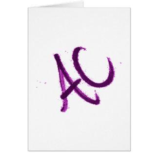 BETTER THAN A C.its an ac. Card
