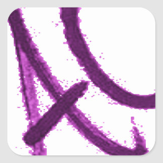 BETTER THAN A C.its an ac. Square Sticker