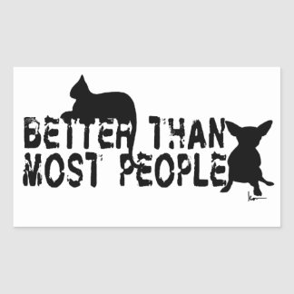 Better than Most People Sticker