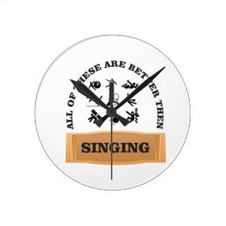 better then singing yeah clocks