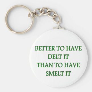 BETTER TO HAVE DELT IT KEYCHAIN