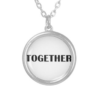Better Together 2 Silver Plated Necklace
