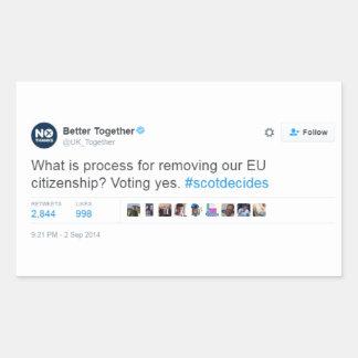 Better Together Lie Sticker