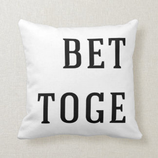 Better together pillow for couples