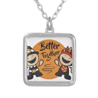 Better Together Silver Plated Necklace
