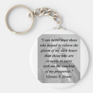 Better Trust - Ulysses S Grant Basic Round Button Keychain