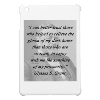 Better Trust - Ulysses S Grant iPad Mini Cover