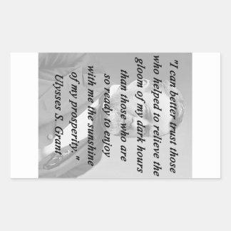 Better Trust - Ulysses S Grant Sticker