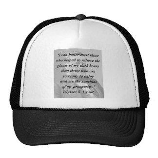 Better Trust - Ulysses S Grant Trucker Hat