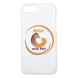 Better with Pets iPhone 7 Cover