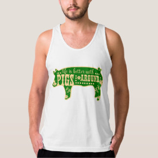 Better With Pigs Tank Top