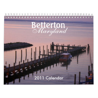 Betterton, Maryland 2011 Calendar