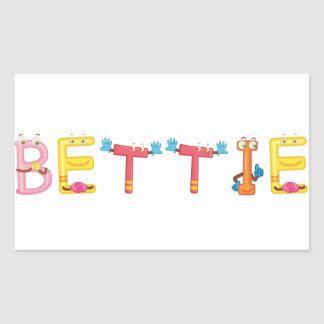 Bettie Sticker