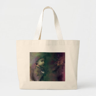 betting on the chances large tote bag