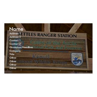 Bettles Ranger Station Business Card