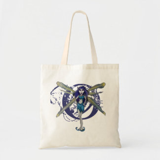 Betty Blue-Fairy Budget Tote Budget Tote Bag