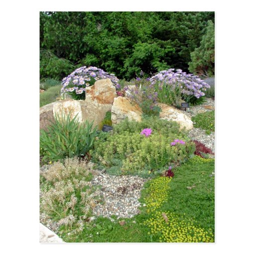 Betty Ford Alpine Gardens in the summer. Author: D Postcards