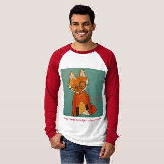 Betty Fox Raglan (addt'l styles & colors) T-Shirt