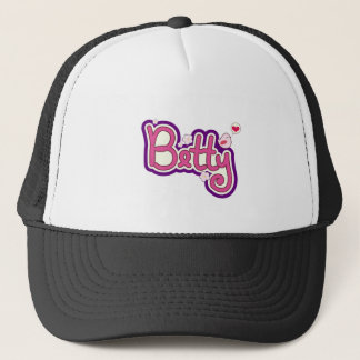Betty Name Personalized Trucker Hat