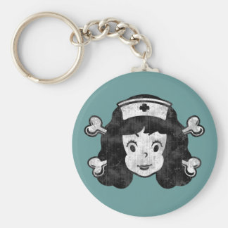 Betty RN, Pirate Keychain