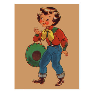 Betty the Cowgirl Postcard