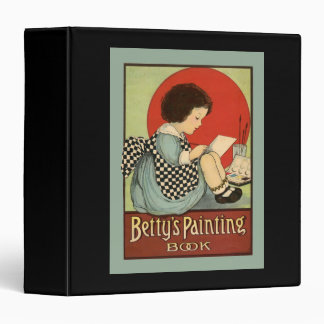 Bettys Painting Book 3 Ring Binder