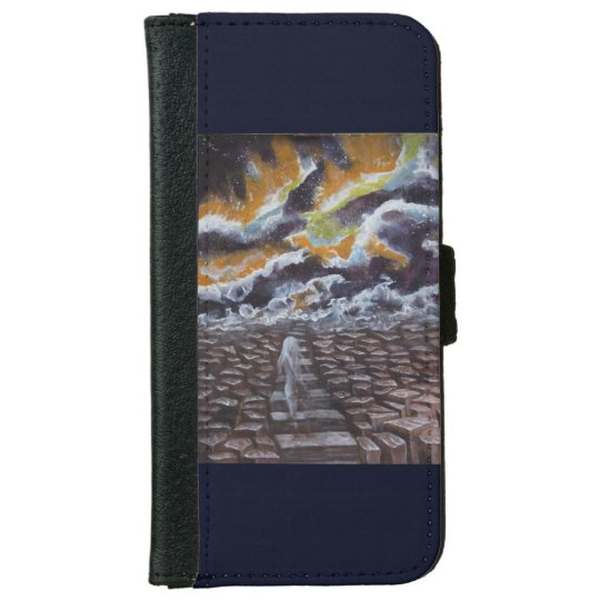 between live and death iPhone 6 wallet case