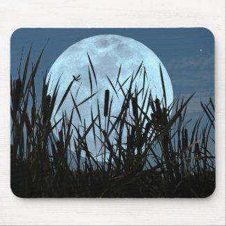 Between Moon and Marsh Mousepad