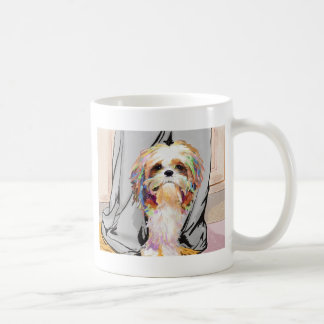 Between my Mommy's feet Coffee Mug