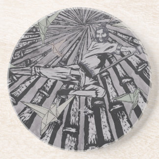 Between Real and Surreal by Carter L. Shepard Coaster