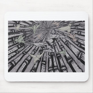 Between Real and Surreal by Carter L. Shepard Mouse Pad