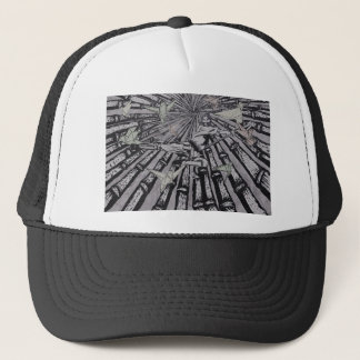 Between Real and Surreal by Carter L. Shepard Trucker Hat