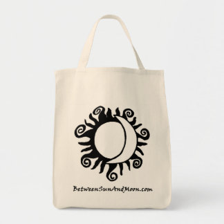 Between Sun and Moon Deep Grocery Bag
