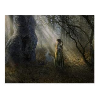 Between The Shadows - Postcard