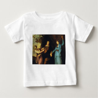 Between Tragedy And Comedy - David Garrick Baby T-Shirt