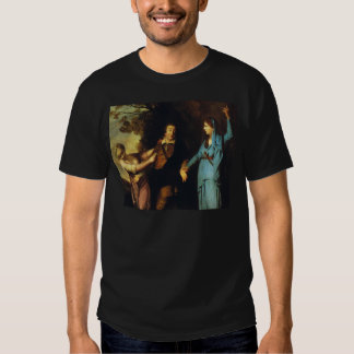 Between Tragedy And Comedy - David Garrick Shirt