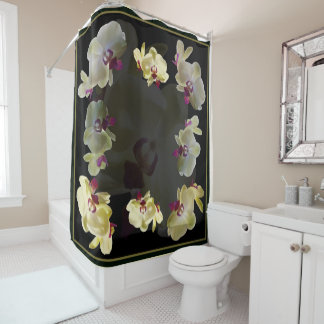 Beulah Orchid Shower Curtain