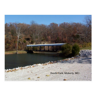 Beuth Park, Moberly, MO Postcard
