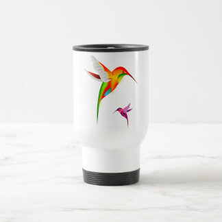Beutiful Hummingbirds, Colibri Travel Mug