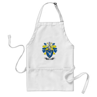Bevan Family Crest Coat of Arms Standard Apron