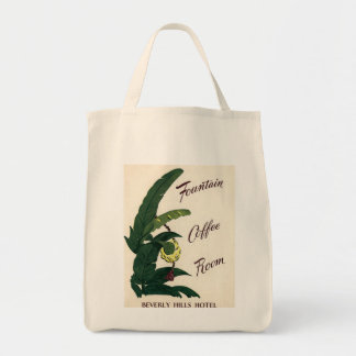 Beverly Hills Hotel Palms Tote Bag