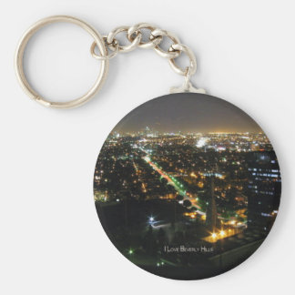 Beverly Hills: I Love Beverly Hills Keychain
