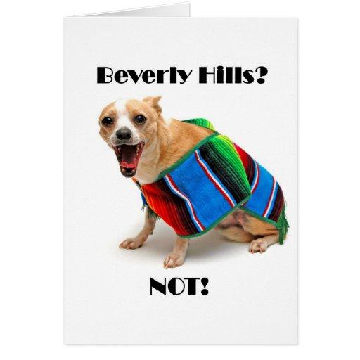 Beverly Hills? NOT! Card