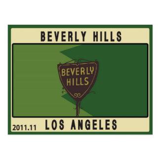 Beverly Hills Postcard