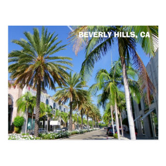 Beverly Hills, Rodeo Dr. Postcard! Postcard