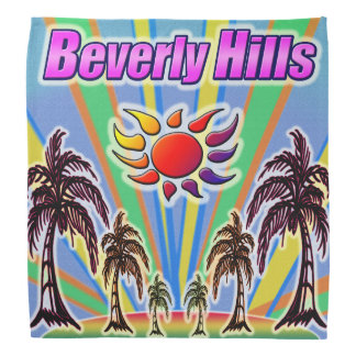 Beverly Hills Summer Love Bandana