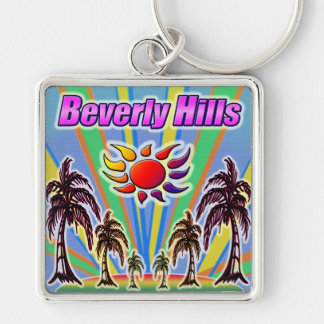 Beverly Hills Summer Love Keychain