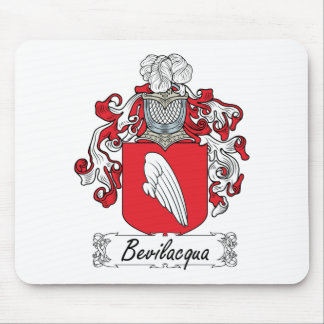 Bevilacqua Family Crest Mouse Pad