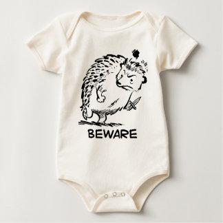 Beware Baby Bodysuit